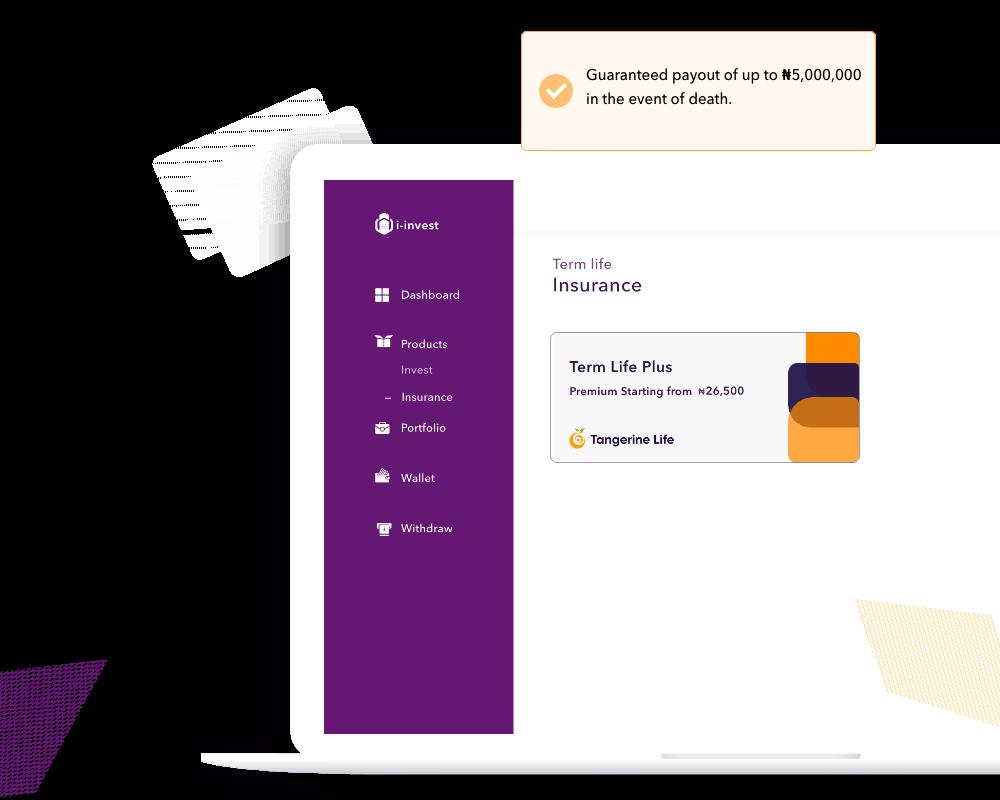 i-invest web UI illustration